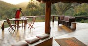 Dining area at Saruni Mara Lodge