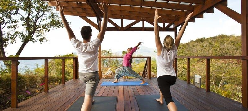 Yoga at Sunset Deck