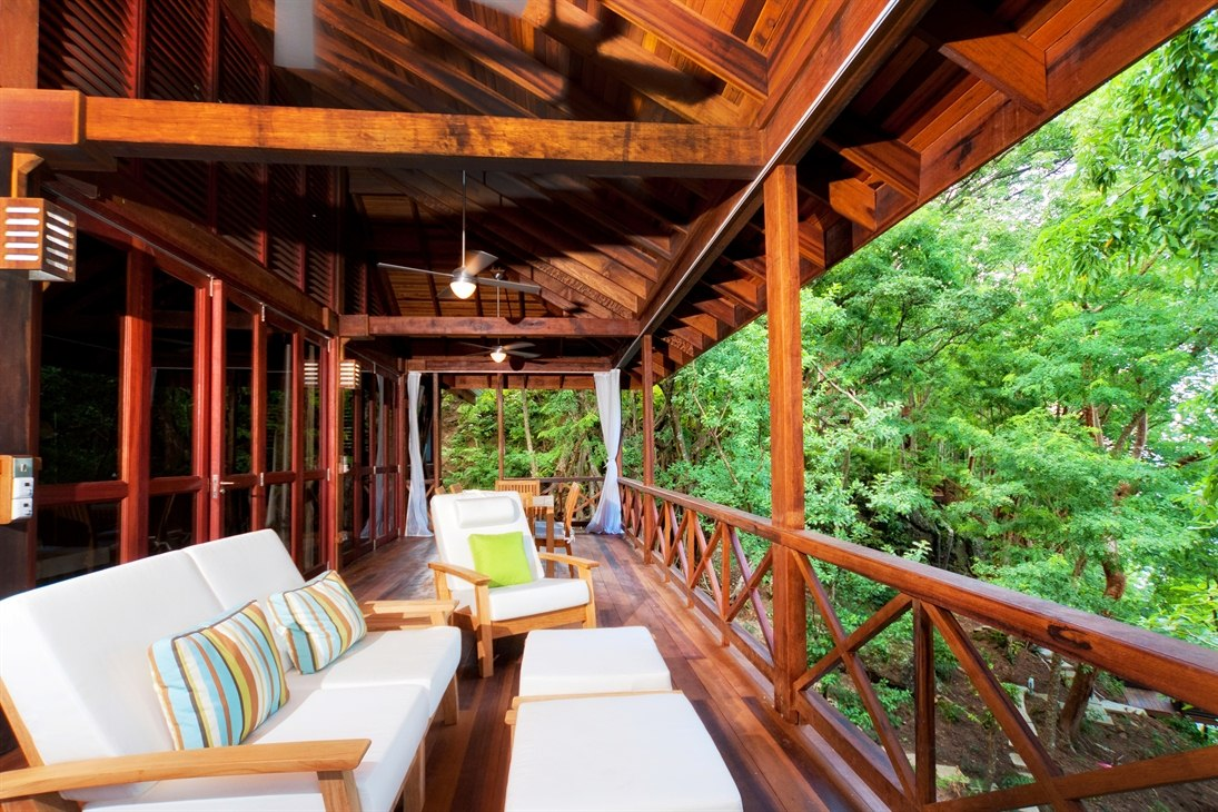 Private Deck at Secret Bay
