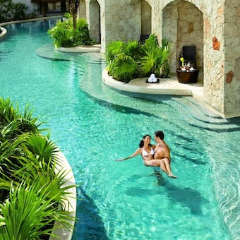 Swimout Suite at Secrets Maroma Beach Riviera Cancun