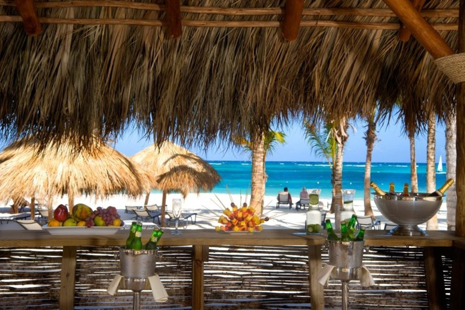 Beach Bar at Secrets Royal Beach Punta Cana, Dominican Republic