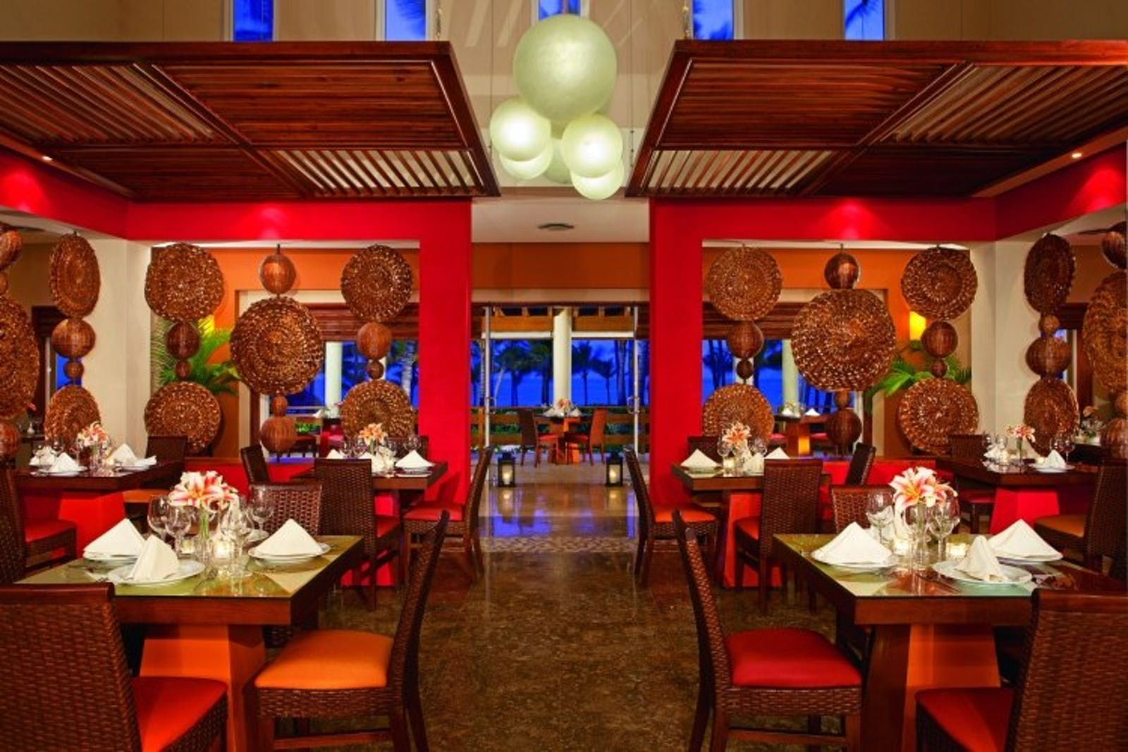 Riviera Restaurant at Secrets Royal Beach Punta Cana, Dominican Republic