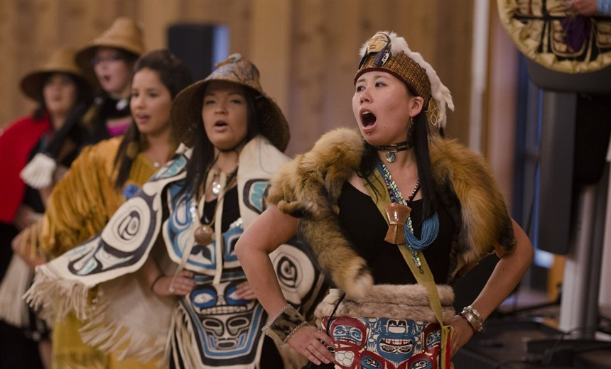 Dakka Kwan First Nations Dancers. Credit: Government of Yukon