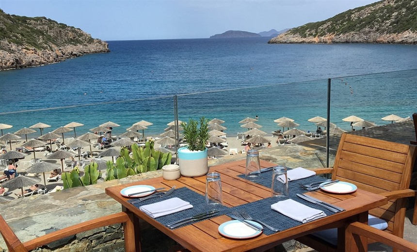 Lunch with a view at Taverna
