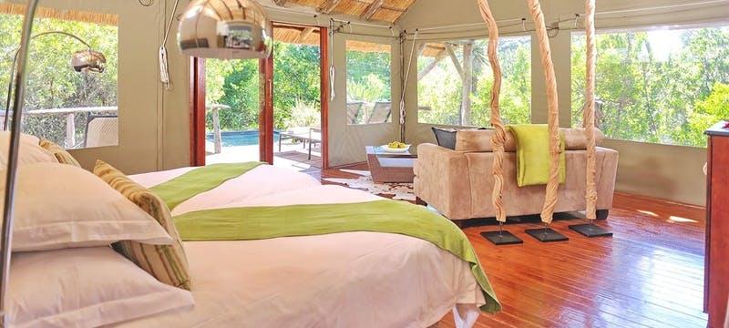 Shamwari Bayethe Lodge Tent Interior