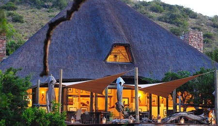 Shamwari Bayethe Tented Lodge Main Lounge