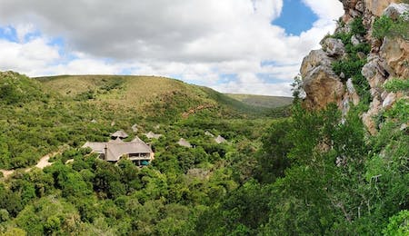 Shamwari Eagles Crag Setting