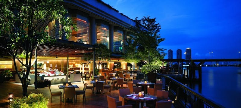 NEXT2 Cafe Terrace at Shangri-La Bangkok