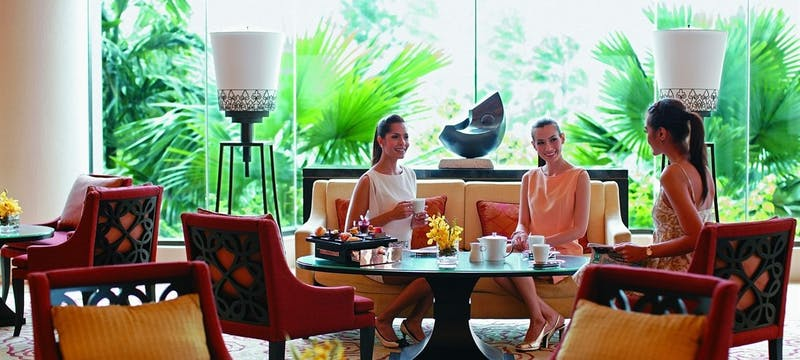 Lobby Lounge Afternoon Tea at Shangri-La Bangkok