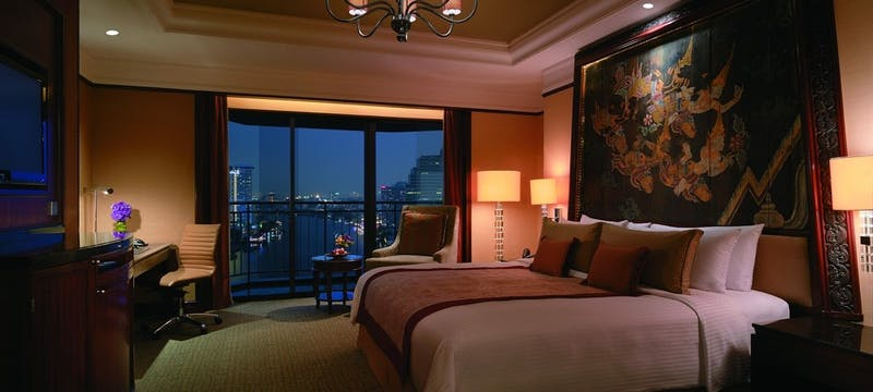 Deluxe Balcony Room  at Shangri-La Bangkok