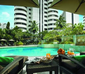 Shangri La combination of Malaysian city and beach