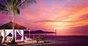 Shangri-La Rasa Ria at sunset