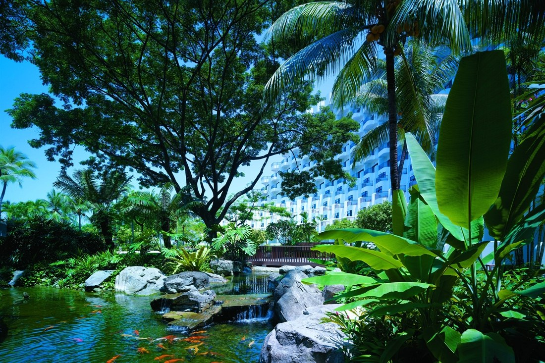 Resort Gardens at Shangri-La's Rasa Sentosa Resort & Spa