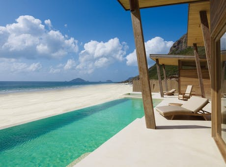 Ocean Front Deluxe Pool Villa at Six Senses Con Dao