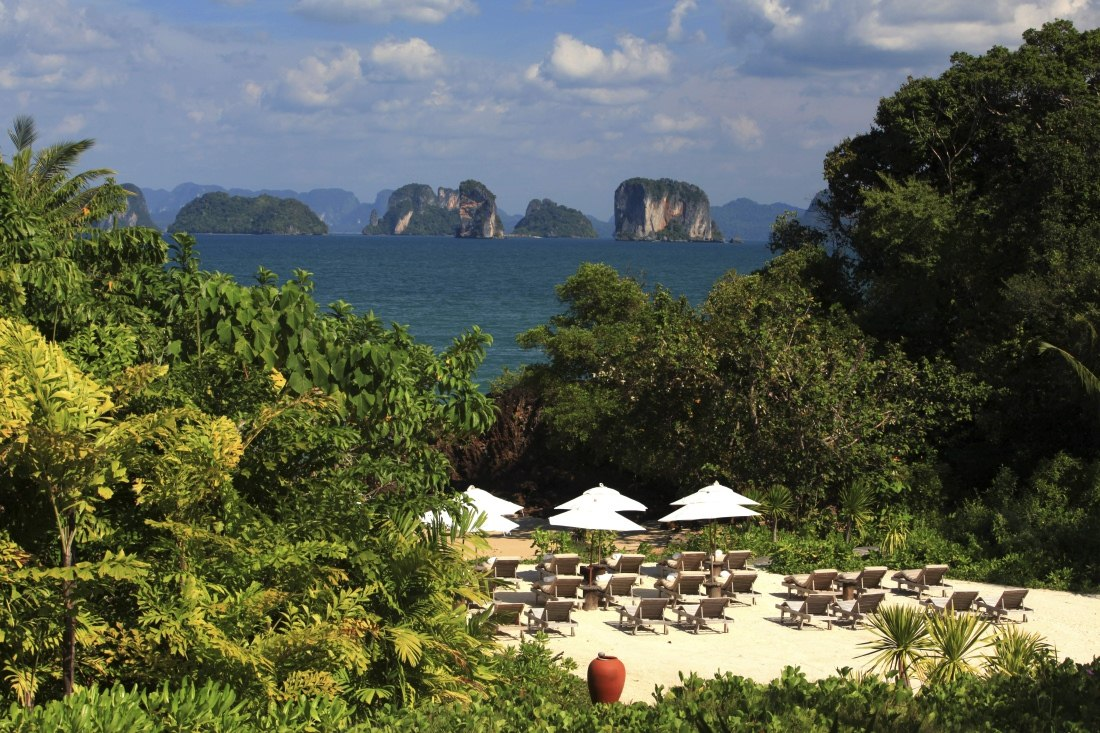 View from The Living Room at Six Senses Yao Noi