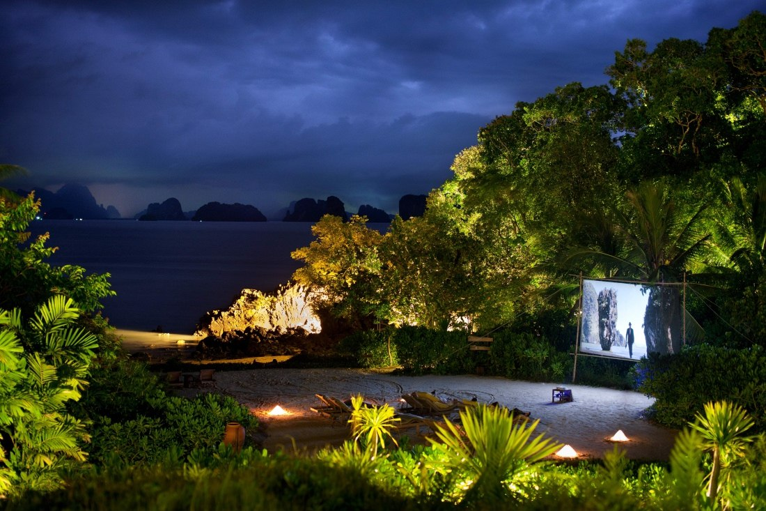 Cinema Paradiso  at Six Senses Yao Noi