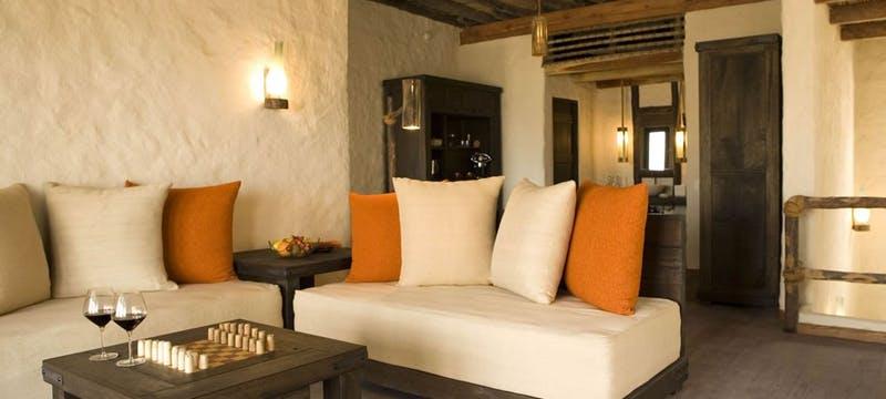 Zighy Pool Villa Living Room