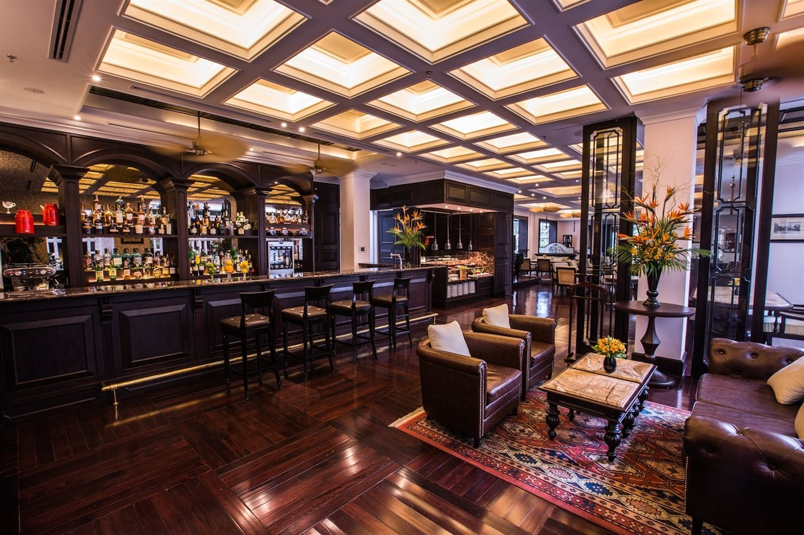 Le Club Bar at Sofitel Legend Metropole Hanoi