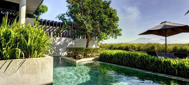 Mountain Pool Villa  at Soori Bali