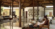 Welcome Ritual at Spa Village Resort Tembok Bali