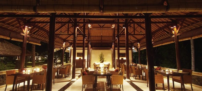 Restaurant at Spa Village Resort Tembok Bali