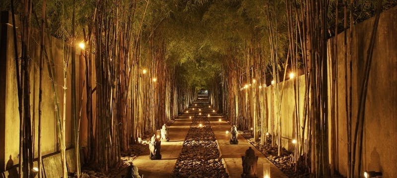 Resort Entrance at Spa Village Resort Tembok Bali