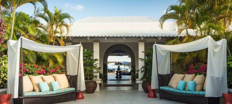 Hotel Entrance at Spice Island Beach Resort