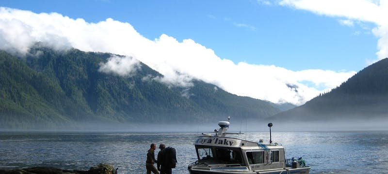 Spirit Bear Lodge Boat