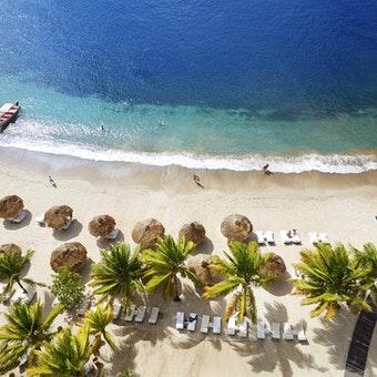 Aerial View of Sugar Beach
