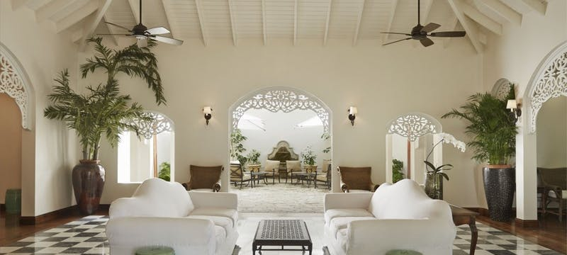 Reception Lobby at Sugar Beach, a Viceroy Resort