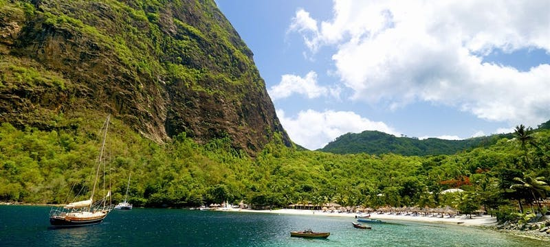 Spectacular Setting at Sugar Beach, a Viceroy Resort
