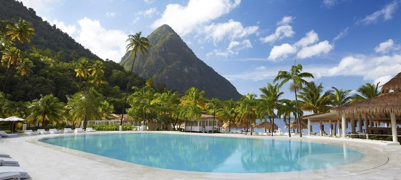 Swimming Pool at Sugar Beach, a Viceroy Resort