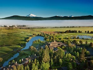 Ariel View of Sunriver Resort, Oregon