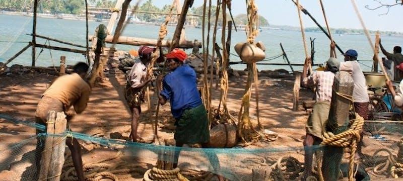 Fishermen in Kerala