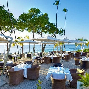 Beachfront Dining At Tamarind by Elegant Hotels