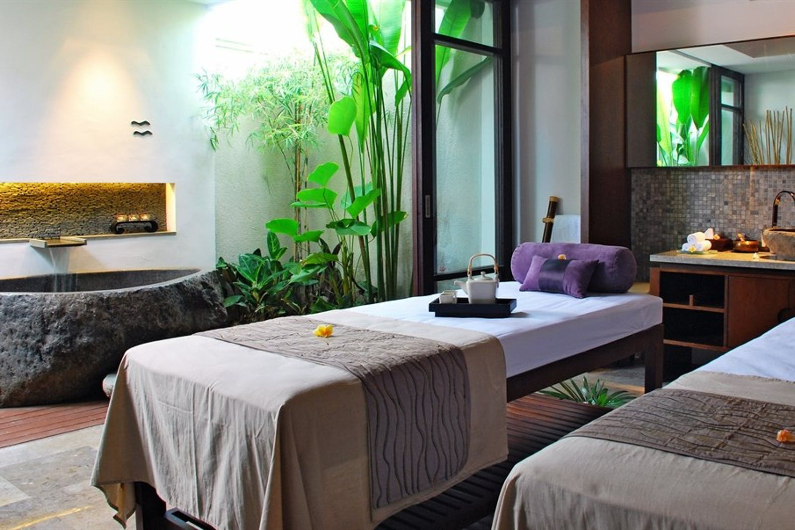 Spa Treatment Room at The Amala, Bali