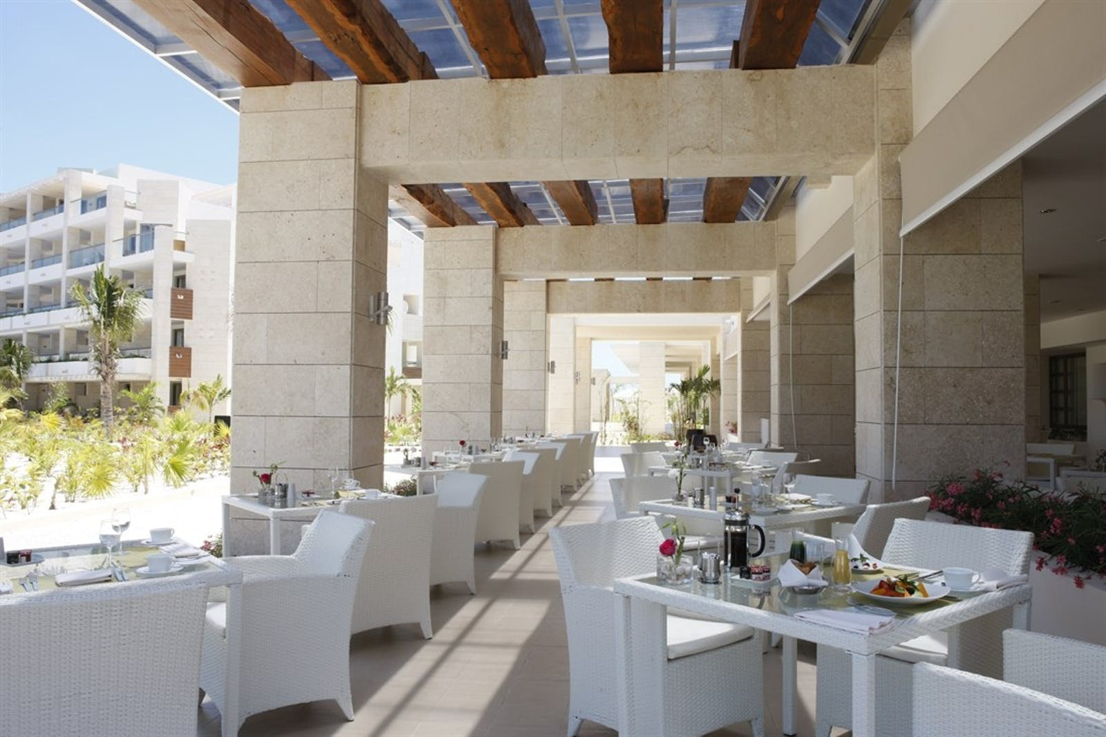 Al Fresco Dining at The Beloved Hotel, Riviera Maya, Mexico