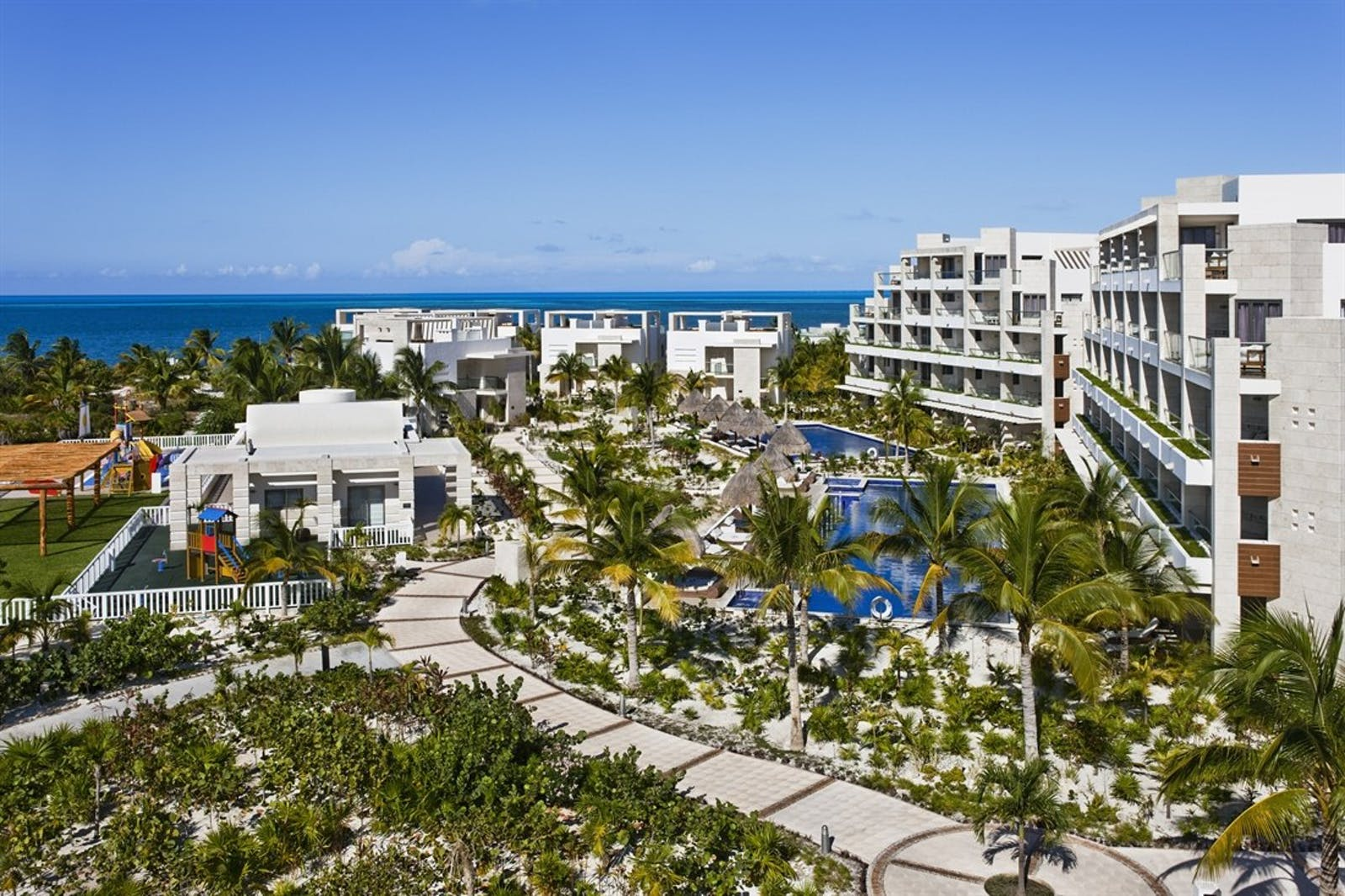 Aerial View at The Beloved Hotel, Riviera Maya, Mexico
