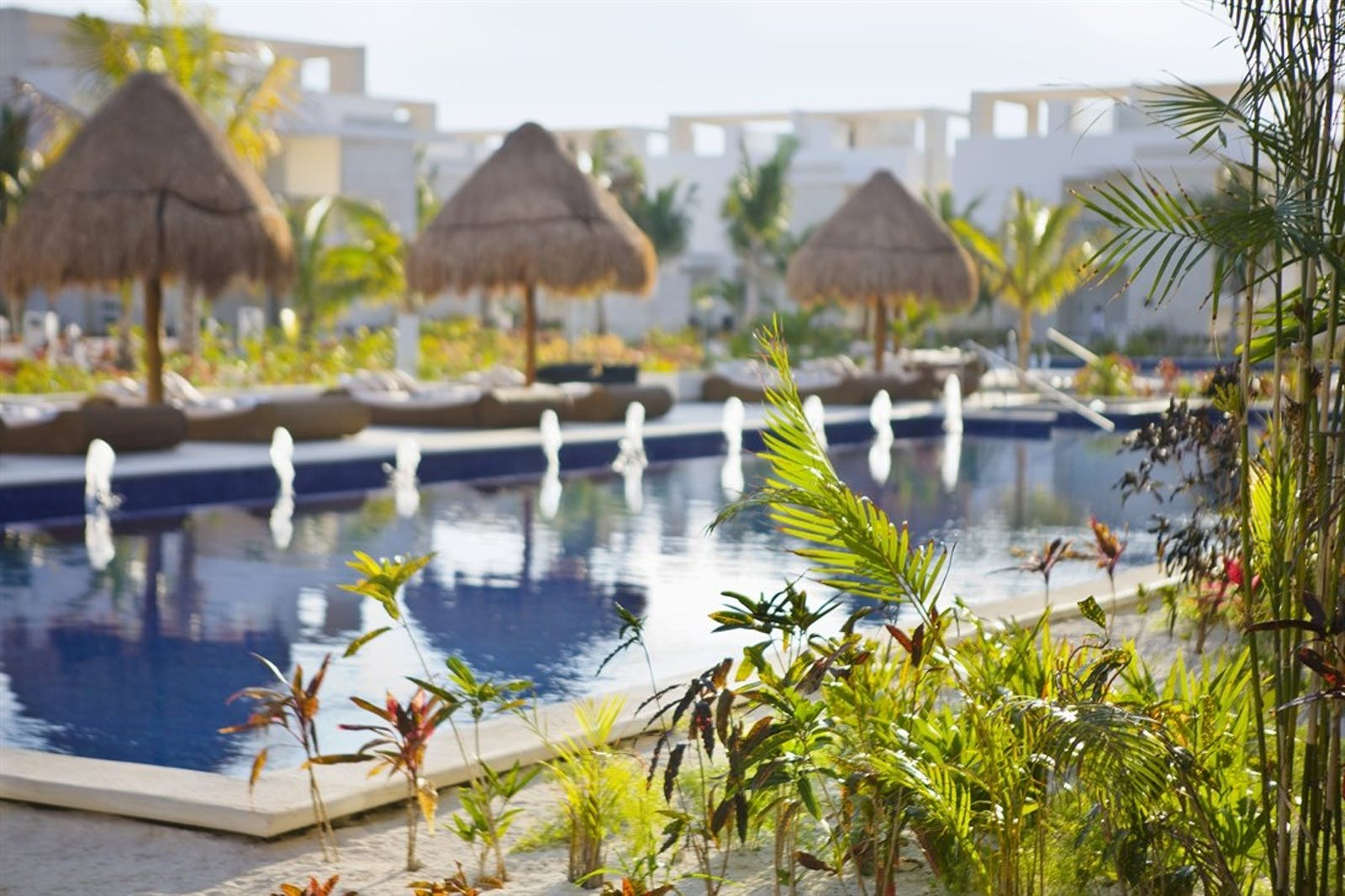 Pool And Gardens at The Beloved Hotel, Riviera Maya, Mexico