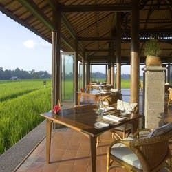 Restaurant at The Chedi Club Tanah Gajah