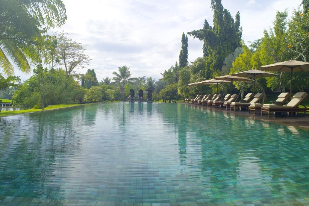 Swimming Pool  at The Chedi Club Tanah Gajah