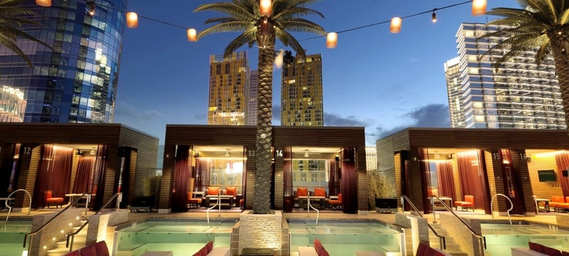 Pool And Private Pool Cabanas