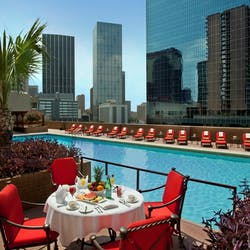 Swimming Pool at Fairmont Dallas
