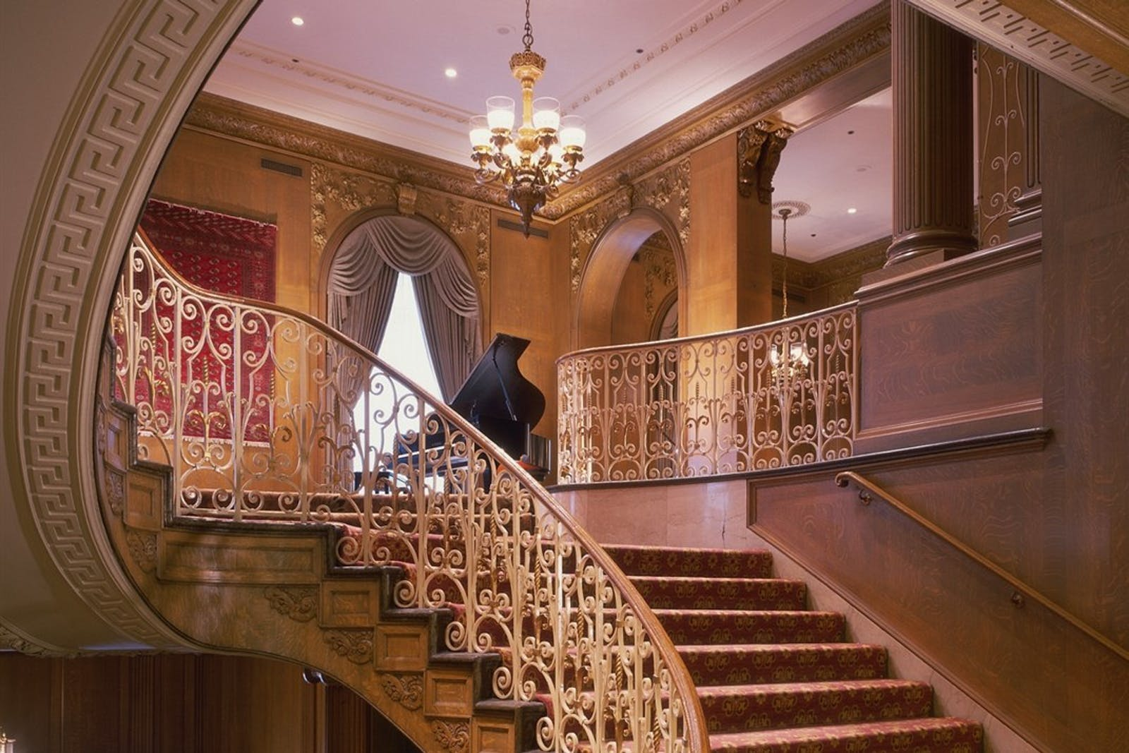 Grand Staircase at Fairmont Olympic Hotel, Seattle