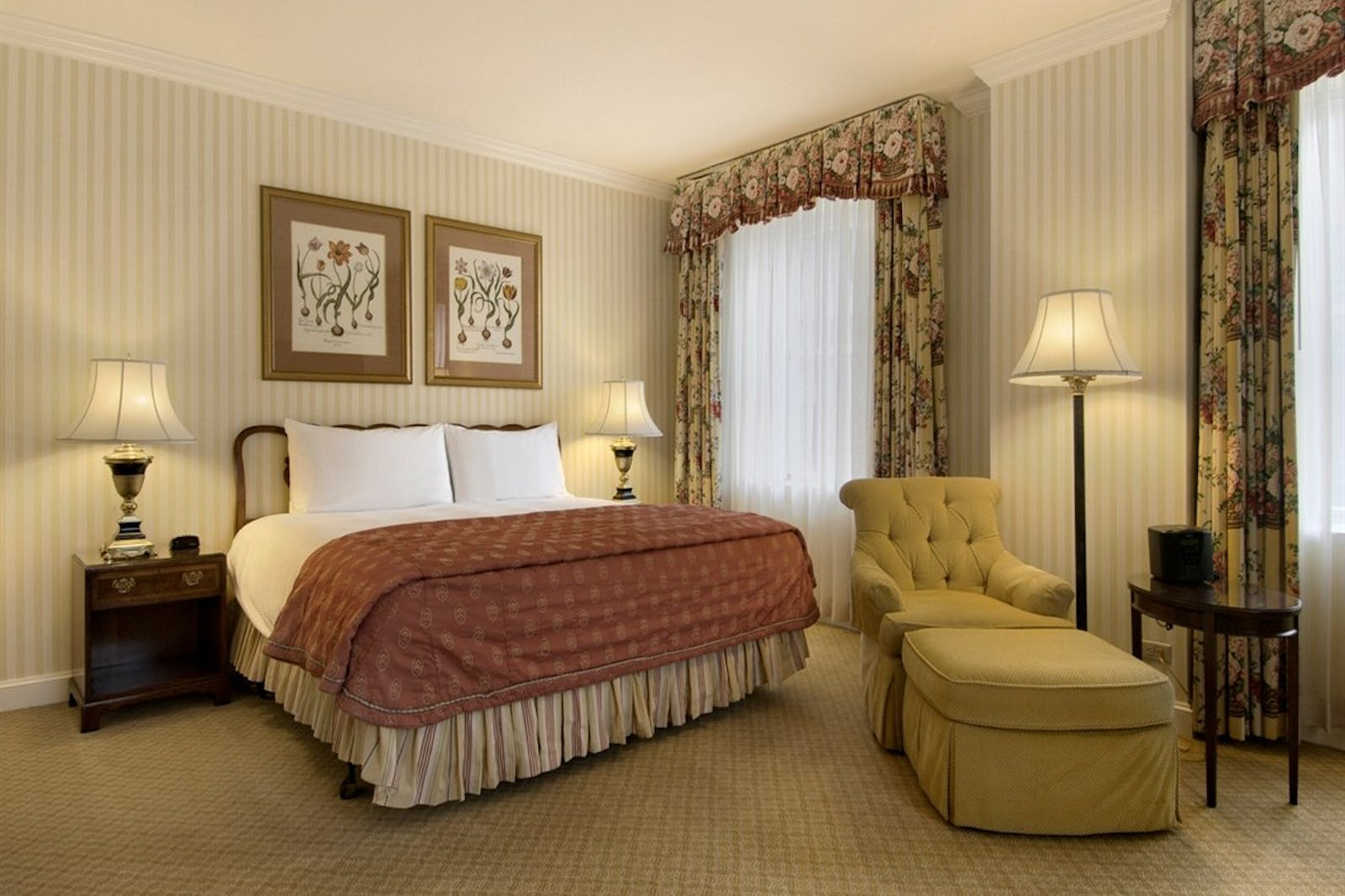 Suite at Fairmont Olympic Hotel, Seattle