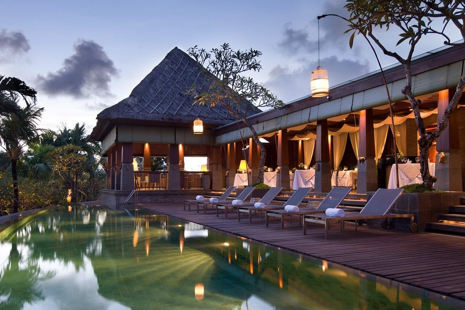 Main Pool & Restaurant at The Kayana, Bali