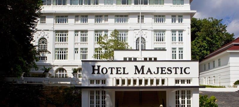 Hotel Majestic Facade