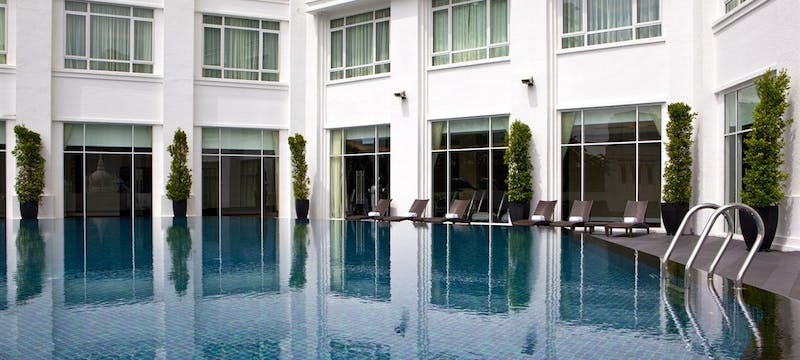 Tower Wing Pool at The Majestic Hotel Kuala Lumpur