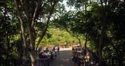 Bali Tower restaurant at Menjangan Resort, Bali