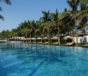 Main pool at Four Seasons Resort The Nam Hai, Hoi An, Vietnam